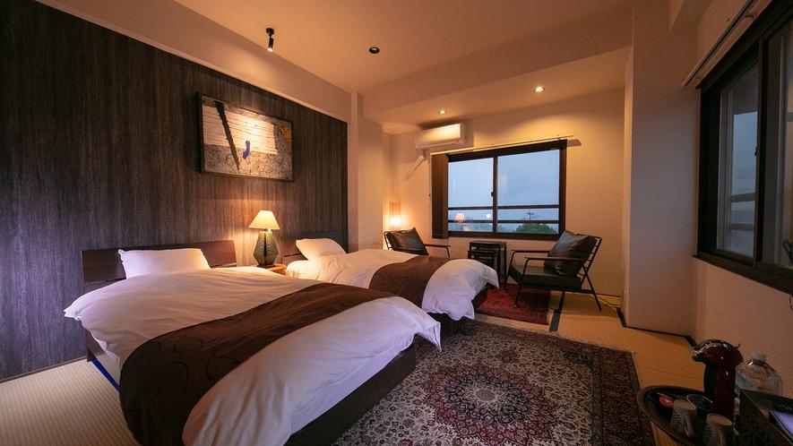 ■一海■眺望ビュー和洋室10畳 寝室