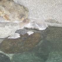 【お風呂】県内随一のアルカリ度を誇る温泉