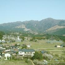 【水上村】自然がいっぱい!市房山の裾野に広がります