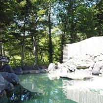 【夏・露天風呂】美肌の湯