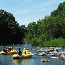【清流下り】小さなお子様からご年配の方まで、家族みんなで楽しめるゆったりのんびりな川下りです。