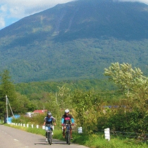 【ニセコサイクリング】ガイドと一緒に、のんびりサイクリング!