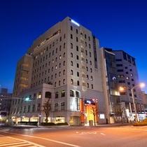 アパホテル<宇都宮駅前>外観