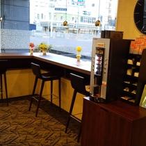 1階 コーヒーマシーン