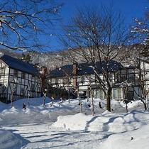 *[外観]白馬五竜スキー場まで徒歩5分!ウィンターアクティビティを存分にお楽しみください。