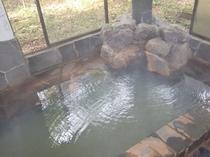温泉は掛流し