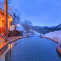眺望の湯 冬