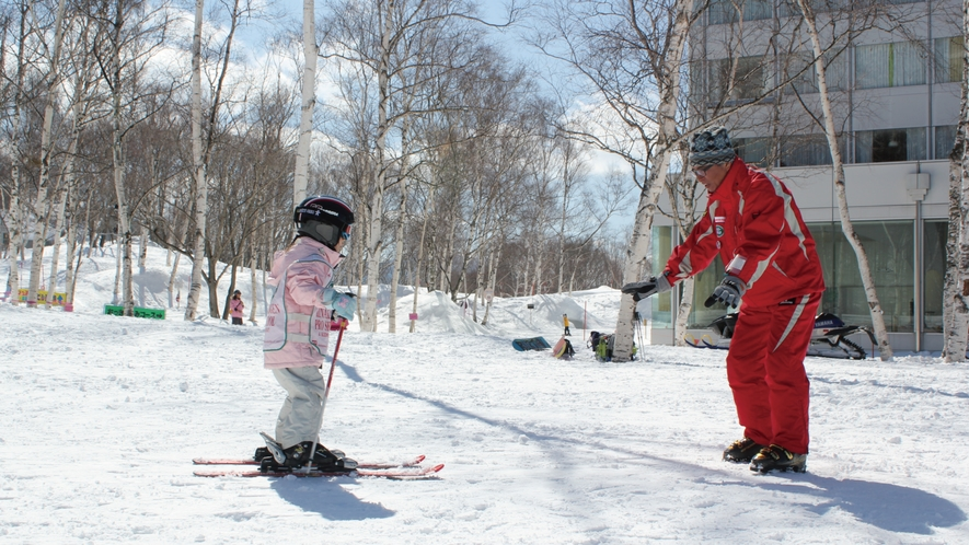 【スキースクール】
