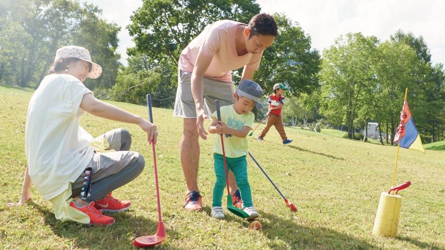 【スナッグゴルフ】ゴルフを始めるためのゴルフ。パパママと一緒にゴルフのルールとマナーを学ぼう♪