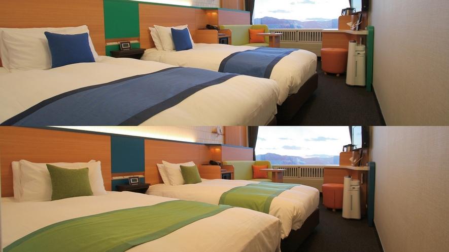 【4名2室】リゾートツイン(添い寝OK)