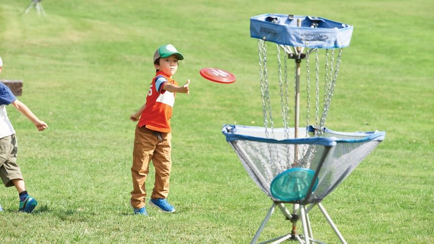【ディスクゴルフ】新感覚アクティビティ!フライングディスクを投げて9ホールを回ります。
