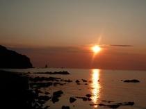 余別の夕陽 2012.05.29