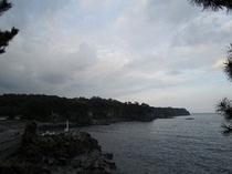 一本松から城ケ崎海岸1