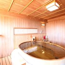*展望貸切檜風呂