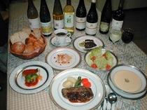 ボリューム満点洋食コース料理