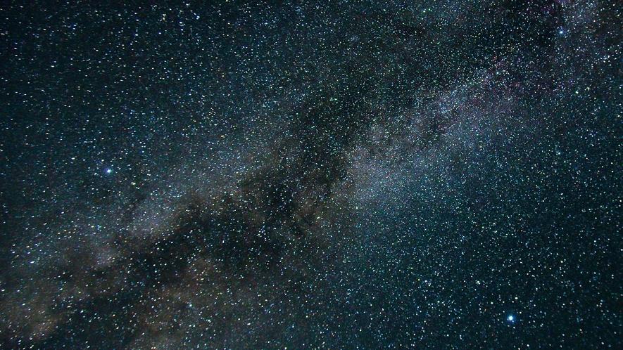 【星空】天気がよければ、満天の星空が望めます