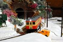 雪の気動車