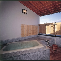 露天風呂付き客室 お風呂2