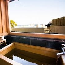 露天風呂付き客室 お風呂