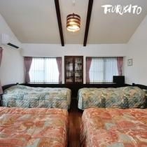 【やまぼうし】定員:2名〜4名 2階はベッドルームに