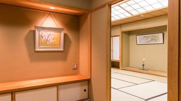 ■最上階■次の間付客室<12畳+6畳>【禁煙】未改装