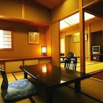 オーシャンビュー最上階次の間つき客室【禁煙】