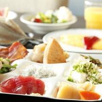 【お食事処・共楽】ブッフェスタイルのご朝食
