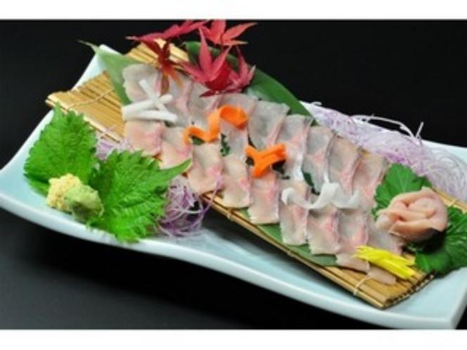 大岩魚のお刺身