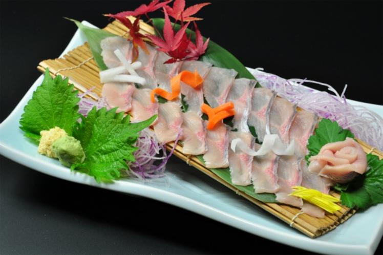 追加料理 岩魚の刺身