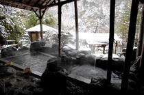 岩鏡 雪景色