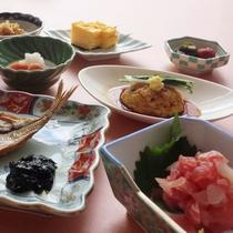 朝食内容一例(イメージ)