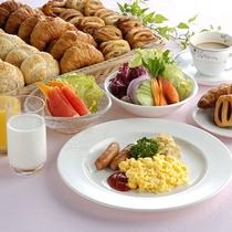 朝食一例(イメージ)