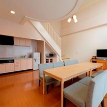 キッチン付きデラックスタイプ(八丈島 一例)