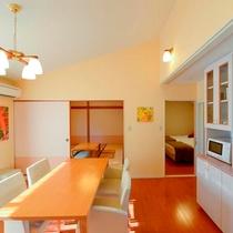 和洋室(御蔵島 一例)