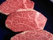 米沢牛ステーキ