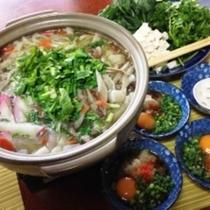 冬の人気メニュー、東京下町レシピの美味しいちゃんこ鍋