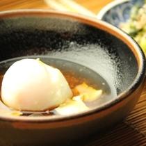朝食(温泉玉子)