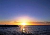 東シナ海へ沈む サンセット