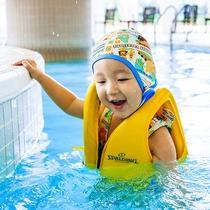 ぷかぷか♪ちゃぷちゃぷ♪子供たちも安心して遊べる室内プール♪冬は温水で1年中楽しめます!