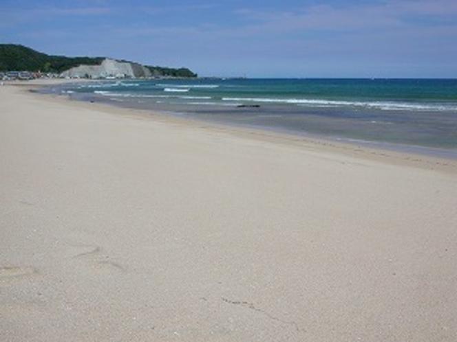 素足で歩ける浜 おんじゅくビーチ
