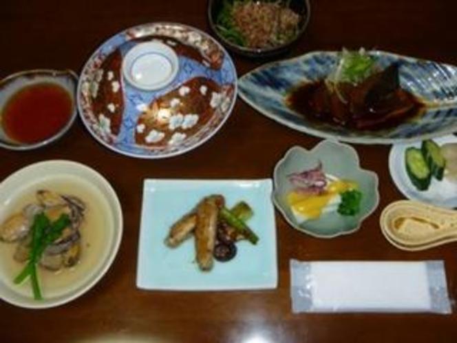 ある日の夕食の写真です