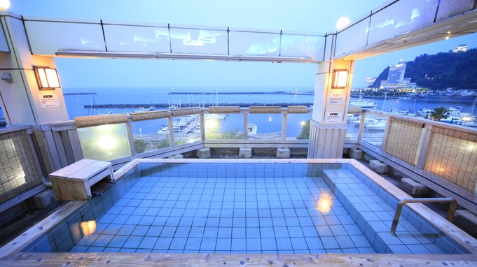 和室海側☆熱海サンビーチすぐ☆8つのお風呂と熱海の旬が躍る個室会席/2食付