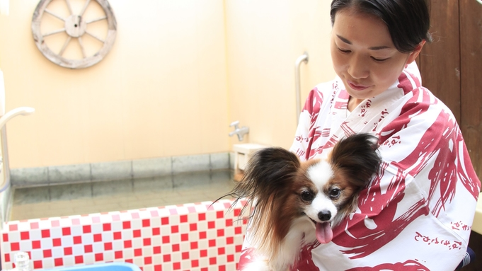 ●小型犬限定●愛犬と一緒に!秋のウェルネスプラン!熱海七湯をワンちゃんと巡ってお得に健康に/2食付
