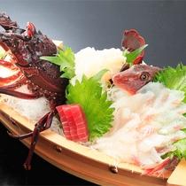 *別注料理本日のお魚メニュー/その日の朝熱海近海で獲れた新鮮なお魚料理。※当日ご注文制