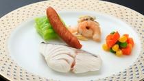 *ワンちゃん用お食事一例/前日までにご予約ください。税込1,000円