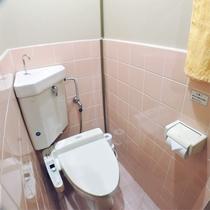 *客室一例/全室に洗浄機能付きトイレ付き。