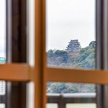 *海側客室からの景色一例/お部屋から熱海城も見ることが出来ます♪