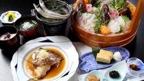 *和食膳一例/毎朝仕入れる熱海近海で獲れた旬なお魚をご提供!