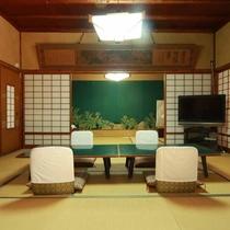 【毘沙門天の家】10畳+10畳+7.5畳◆グループやファミリーにおすすめの広々としたお部屋です