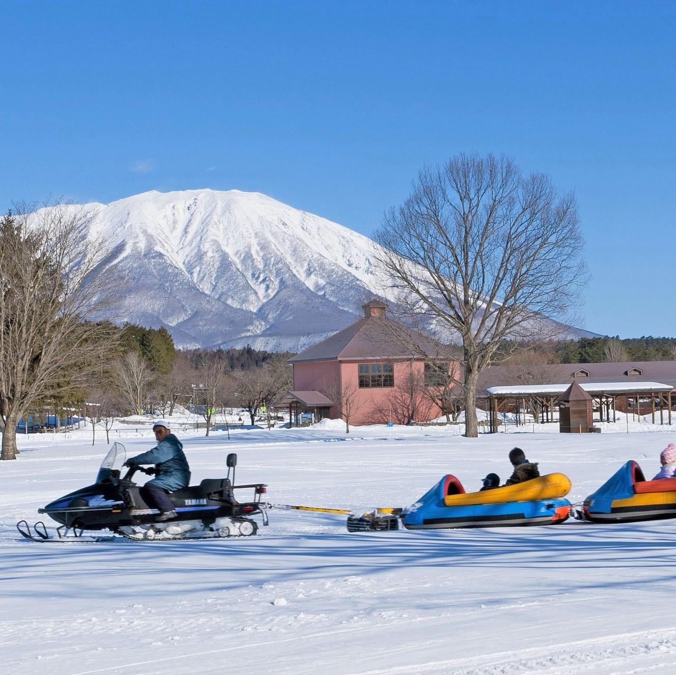 小岩井農場 雪遊び イメージ